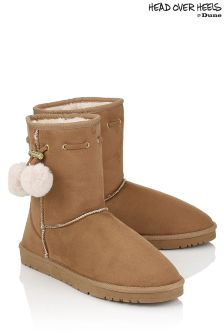Head Over Heels Faux Fur Lined Boots