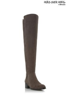 Head Over Heels Over Knee Boots