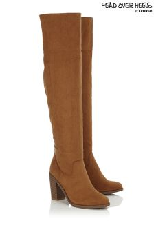 Head Over Heels Over The Knee Boots