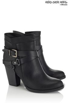 Head Over Heels Wrap Buckle Boots