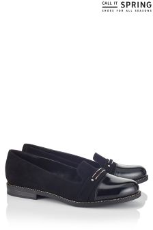 Call It Spring Metal Loafers