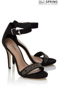Call It Spring Stud Detail Heels