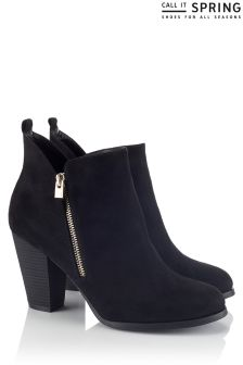 Call It Spring Side Zip Boots