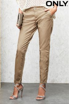 Only Low Skinny Chino Trousers