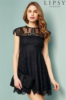 Lipsy Lace Skater Dress