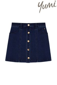 Yumi Girl Denim Mini Skirt