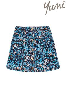 Yumi Girl A Line Ditsy Skirt