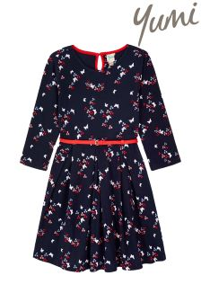 Yumi Girl Butterfly Jersey Dress