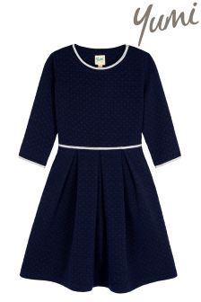 Yumi Girl Quilted Skater Dress