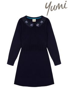 Yumi Girl Collar Jumper Dress