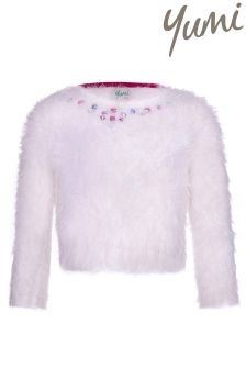 Yumi Girl Jewelled Jumper
