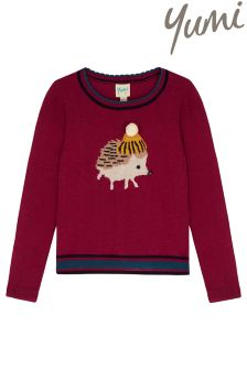 Yumi Girl Hedgehog Jumper