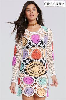 Girls On Film Bohemian Crochet Dress
