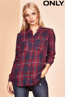 Only Woven Check Shirt
