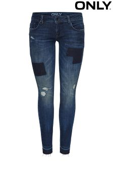 Only Patch Denim Jeans