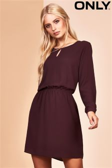 Only Keyhole Shift Dress