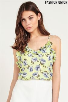 Fashion Union Ladies Floral Top