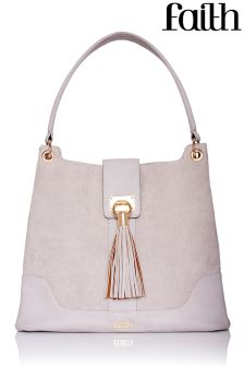 Faith Tassel Detail Shoulder Bag