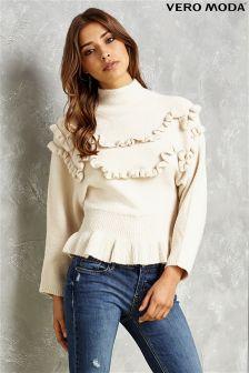Vero Moda Ruffle Knit Blouse