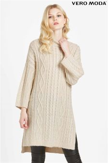 Vero Moda Knitted Long Oversized Jumper