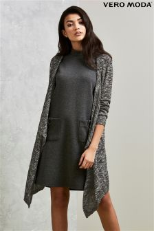 Vero Moda Long Sleeve Drape Cardigan