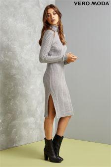Vero Moda Knit Split Dress