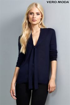 Vero Moda Bow Neck Jumper