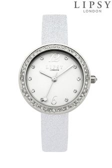 Lipsy Glitter Strap Watch