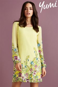 Yumi Floral Print Tunic Dress
