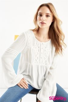 Superdry Lace Blouse