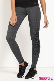 Superdry Large Print Logo Leggings