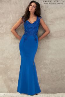 Lipsy Love Michelle Keegan Applique Maxi Dress