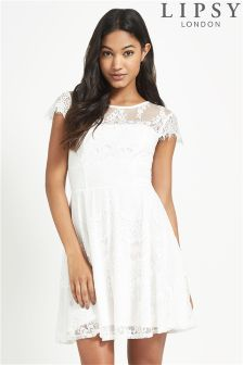 Lipsy Lace Skater Dress