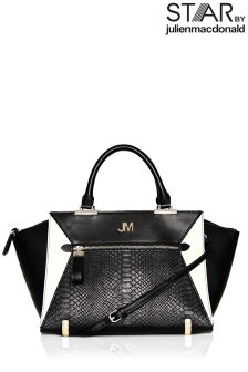Star By Julien Macdonald Zip Front Winged Shopper Bag