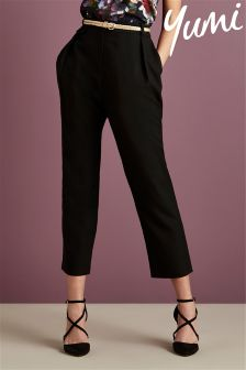 Yumi Casual Pocket Detail Trousers