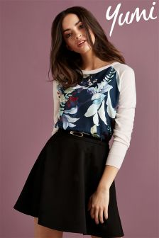 Yumi Woven Front Jumper