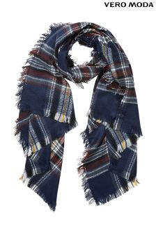 Vero Moda Long Check Scarf