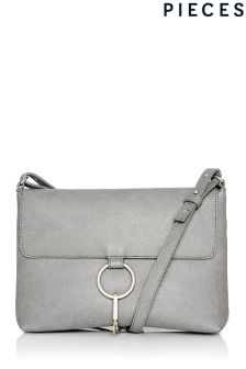 Pieces Ring Clasp Cross Body Bag