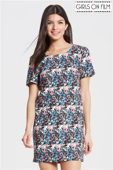 Girls On Flim Printed Tunic