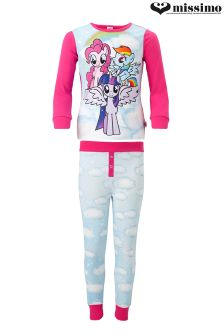 Missimo Girls My Little Pony Washed PJ Set