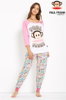 Paul Frank Ladies  Tee And Cuff Leg PJ Set