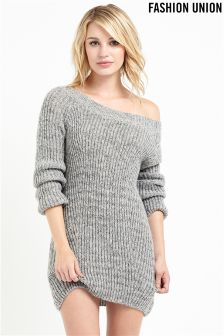 Fashion Union Bardot Jumper