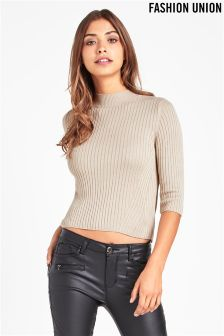 Fashion Union Ribbed Jumper
