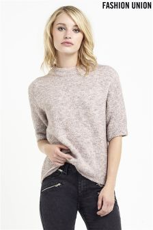 Fashion Union Cropped Jumper