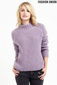 Fashion Union Chunky Rib Jumper