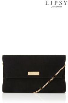 Lipsy Suedette Clutch Bag
