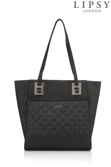 Lipsy Quilted Shopper Bag