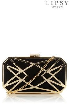 Lipsy Caged Clutch Bag