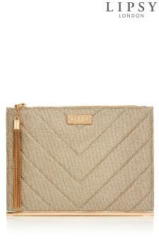 Lipsy Tassel Clutch Bag