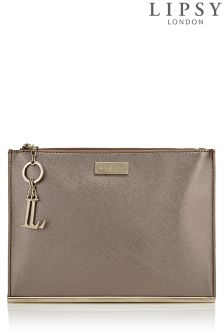 Lipsy Metallic Clutch Bag